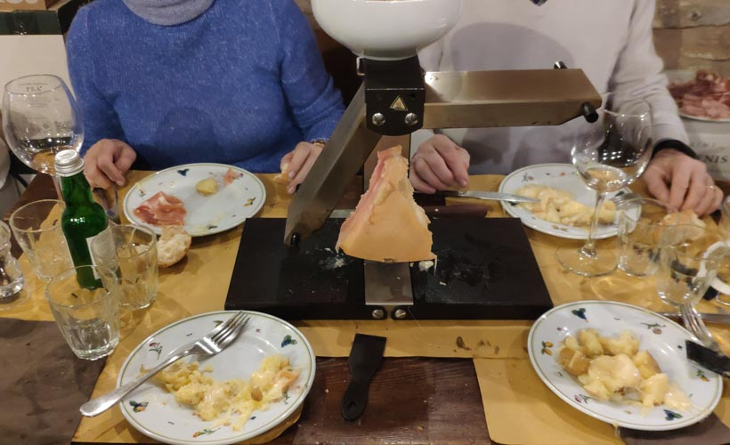 There is no Raclette without conviviality
