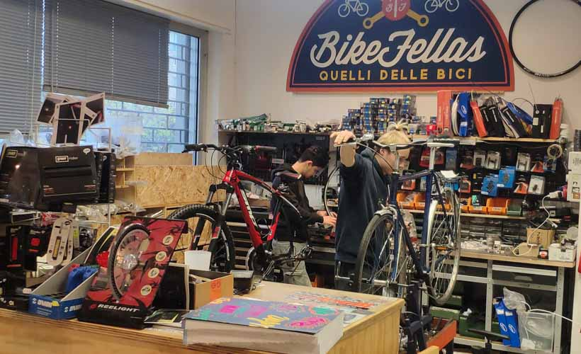 Bike fellas repair shop